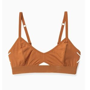 Urban Outfitters Intimates & Sleepwear - Richer poorer cutout bralette in tobacco